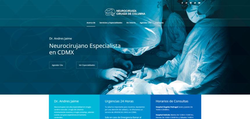 Le damos la Bienvenida a Neurocirugía CDMX